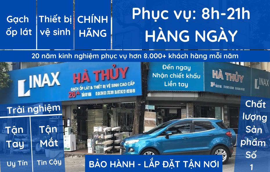 Gạch ốp lát & Thiết bị vệ sinh CHÍNH HÃNG – Đại lý Hà Thủy – 26a Trần Duy Hưng